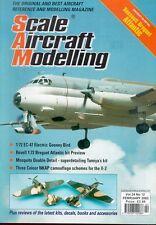 SCALE AIRCRAFT MODELLING V24 N12 WW2 MARSEILLE Bf109F-4/TROP / FRENCH ATLANTIC