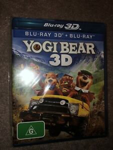 Yogi Bear (3d Blu-ray And Blu Ray 2011, 2-Disc Set)