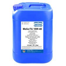 1x20l Melia FA 10W-40 Motoröl für LKW Schwerlaster Nutzfahrzeuge 20 Liter