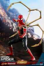 IRON SPIDER AVENGERS INFINITY WAR 1:6 SCALE HOT TOYS SIDESHOW MMS482