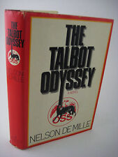 1st Edition THE TALBOT ODYSSEY Nelson Demille CLASSIC Adventure FIRST PRINTING