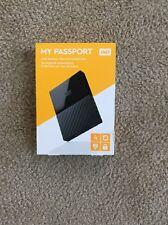 Western Digital My Passport 4TB USB 3.0 Portable External Hard Drive  - NEW