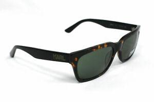 Karl Lagerfeld KL Havana Black Womens Plastic UV Shades Sunglasses KS6004 013