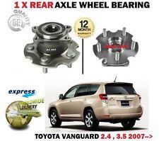 für Toyota Vanguard 2.4 3.5 4x4 2007- > NEU 1x Hinterachse Radlager + SATZ