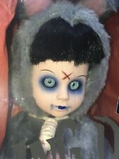 Living Dead Dolls Uk Exclusive Eggzorcist Grey Sealed Ldd Goth Horror 10 Year
