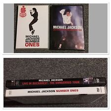Live In Bucharest The Dangerous Tour Michael Jackson+ Number Ones DVD Aus Seller
