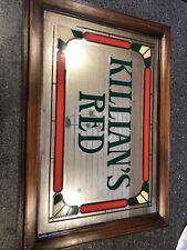 Vintage Killian's Irish Red Bar Mirror Sign