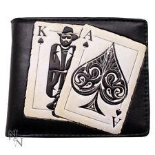 Vegas Playing Cards Mens Wallet 11cm Nemesis Now
