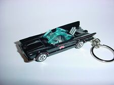 NEW 3D 1966 BATMOBILE CUSTOM KEYCHAIN keyring key ring BATMAN & ROBIN TV SERIES!