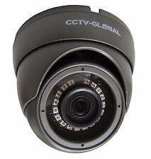 3MP SENSOR HD TVI  CCTV GREY DOME CAMERA 3.6mm FIXED LENS 20m IR