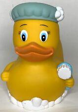 Munchkin Bathtub Duck bubble bath safety tub cover Hat Brush Yellow