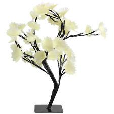 45cm 46 LED Blossom Tree With Fibre Optic Christmas Xmas Lighting Decoration New