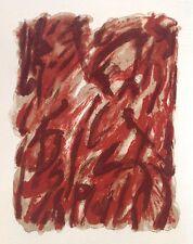 Robert HELMAN (1910-1990) Rare Lithographie Originale IX Originale Signée 1965