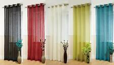 Polyester Ring Top Modern Panel Curtains