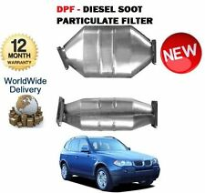FOR BMW X3 E83 3.0D 218BHP M57N2 2004-7/2006 DPF DIESEL SOOT PARTICULATE FILTER