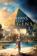 "ASSASSIN'S CREED POSTER ""ORIGINS"" LICENSED ""BRAND NEW"" BAYEK"