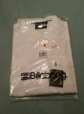 Camicia Billabong taglia L (veste come una XL) colore bianco nuova con etichette