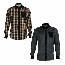 Men's Spotted Collared Casual Shirts & Tops