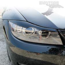 BMW E90 4D Sedan Front Eyelids Eyebrows Headlight Cover 328i 325i 2006-2011