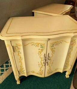 Vintage Heritage Drexel End Table Venetian French Provincial Hand Painted #2