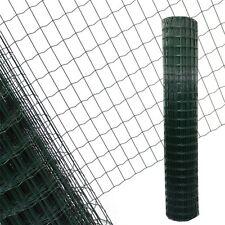 Gartenzaun 1,8x25 M Maschendraht Gitterzaun Maschung 7,5x5 cm Schweißgitter Zaun