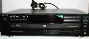 VINTAGE SONY CDP-C435 5 DISC CD PLAYER STACKER - WORKING!