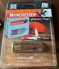 Winchester Collector's Shotgun Shell Knife Rosewood Handle Screwdriver NIP