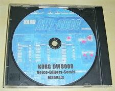 KORG  DW-8000 - CD 891 Voice