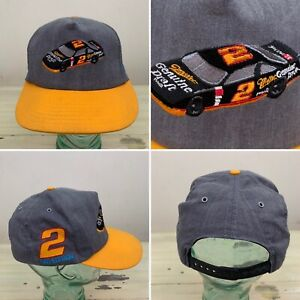 RUSTY WALLACE - NEW! Vtg 1993 Edition Miller Beet Snapback NASCAR Racing 90s Hat