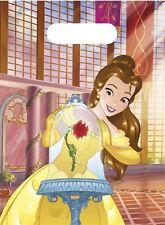 Disney Die schöne Belle und das Biest Beauty Beast Party - 6 Tüten für Mitgebsel