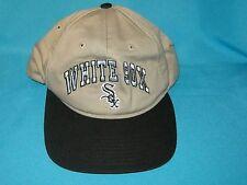 RARE MLB CHICAGO WHITE SOX SNAP BUCKLE BACK CAP HAT TWINS ENTERPRISE GENUINE