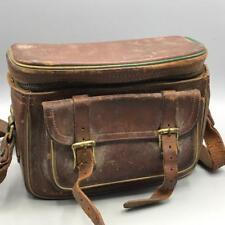 Vintage Sun Valley by Service Camera Case Saddle Leather