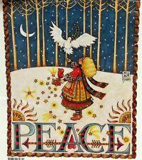 Large Daisy Kingdom Iron‑On Transfer 1984 Christmas Mary Engelbreit Peace 6537