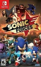 Sonic Forces Nintendo Switch Brand New Sealed