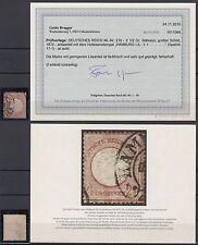 Briefmarken aus dem deutschen Reich (1872-1874) mit BPP-Fotobefund
