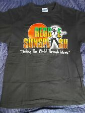 Reggae Sunslash 1991 Concert T-Shirt XL Vintage Maxi Priest Shinehead Dennis...