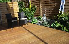 BANGKIRAI 2,95€  25x145mm Riffelbohlen Terrassendielen Garten Haus No.127a