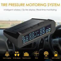 Solar Truck TPMS Car Tire Tyre Pressure Monitoring System w/ 6 External Sensors