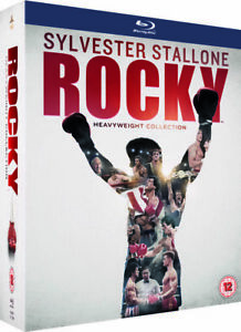 Rocky 1 2 3 4 5 6 Rocky Balboa The Heavyweight Collection New Region B Blu-ray