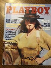 Bo Derek Edition Play Boy Magazine