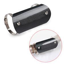 Motorcycle Exhaust Pipe Heat Shield Cover Link Tube Muffler Protector Heel Guard