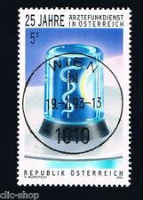AUSTRIA UN FRANCOBOLLO RADIOSERVIZIO MEDICO 1993 timbrato
