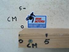 STICKER,DECAL BRINK MOTOREN MINIBIKES POCKETBIKES DIRTBIKES PITBIKES MOTO MX CRO