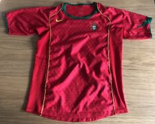 Maillot Equipe Portugal Nike 14 Ans 2004-2006 Home Football Soccer