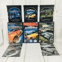 Need for Speed Hot Pursuit 2 Underground Most Wanted PS2