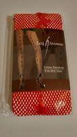 Leg Avenue Fishnet Bow seam 100% Nylon Pantyhose Hosiery Tights OSFM Red Sexy H
