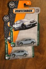2018NEW MATCHBOX '17 HONDA CIVIC HATCHBACK 1:64 TWO CAR LOT IN PACKAGE 1/64