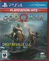God of War PS4 Brand New Factory Sealed