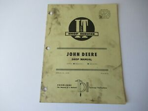 1975 John Deere 820 830 tractor repair service shop manual