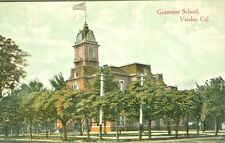 Visalia CA The Grammar School 1907